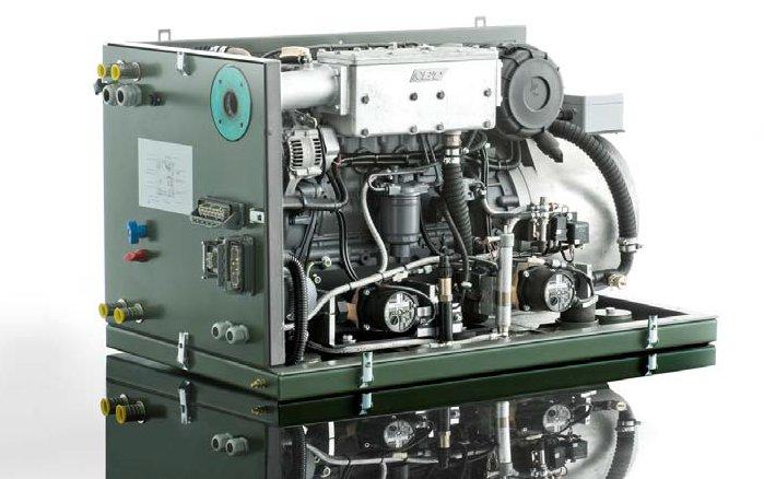 agregat prądotwórczy kopaktowy w obudowie