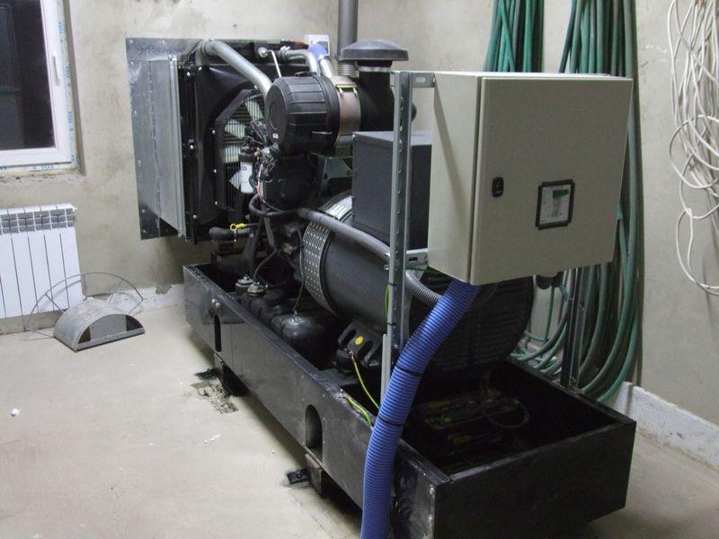 Agregat Prądotwórczy 100kVA SZR ATS Iveco Meec Alte 01