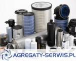 Filtry powietrza oleju paliwa do agregatów prądotwórczych Agregaty Serwis PL