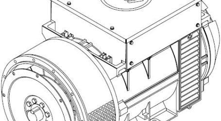 Marelli Motori Genenerators Prądnica MJB 160