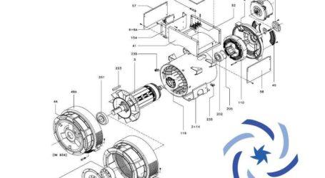 MJB 225 Marelli Motori
