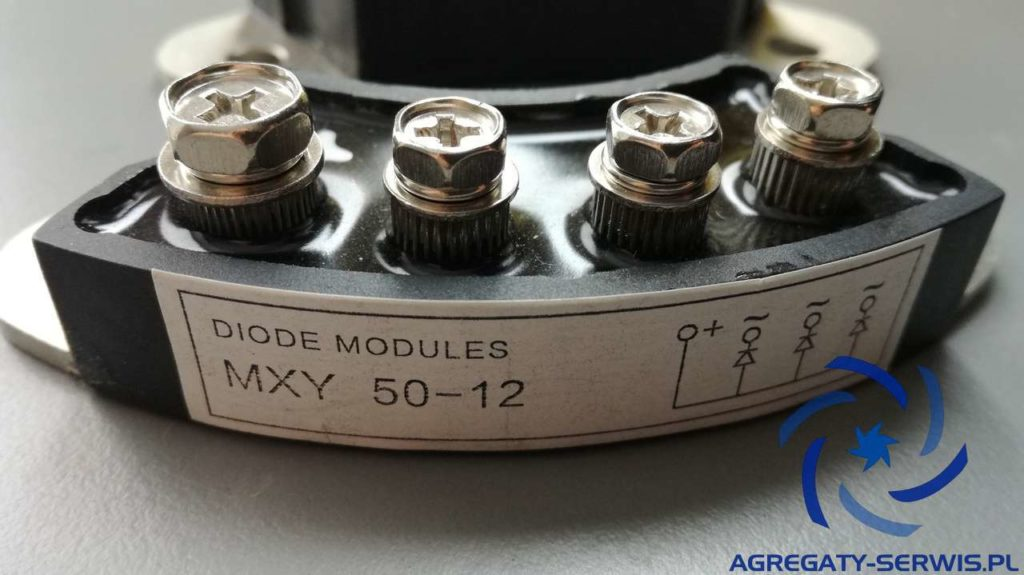 MXY 50-12 4 Diody Prądnicy 4 PIN